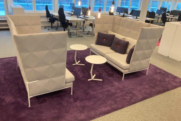 Edsbyn Resolve Grey soffa